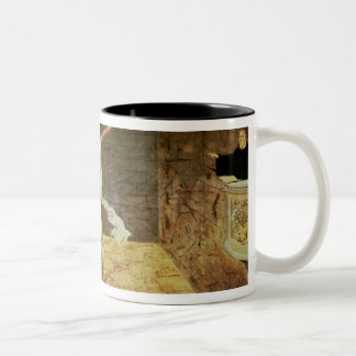 Martin Luther's Sermon Two-Tone Coffee Mug