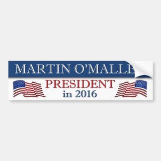 Martin O'Malley 2016 Patriotic Car Bumper Sticker