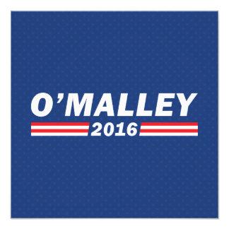 Martin O'Malley, O'Malley 2016 Photo Print
