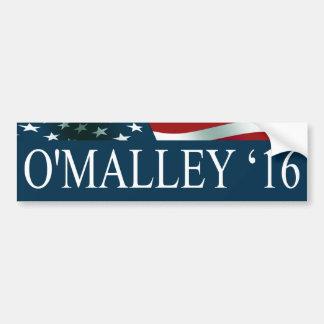 Martin O'Malley President in 2016 Car Bumper Sticker