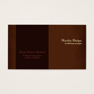 Martin Stripe Business Cards