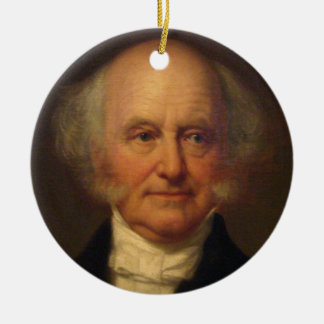 Martin Van Buren 8th President Ceramic Ornament