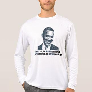 Martin walked so Barack could run. Tee Shirts