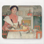 Martina Carrying Breakfast on a Tray, 1904 Mouse Pads