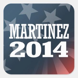 MARTINEZ 2014 STICKERS
