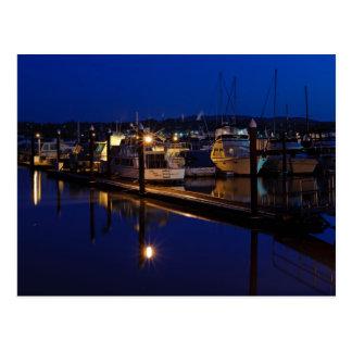 Martinez Marina at Dawn Postcard