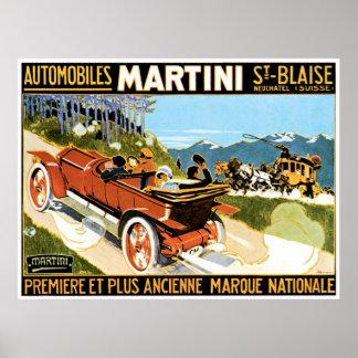 Martini Automobiles Poster