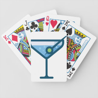 Martini Bicycle Playing Cards