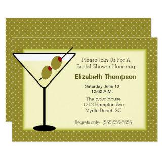 Martini  Bridal Shower Invitation