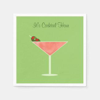 Martini Cocktail Napkins Disposable Napkin