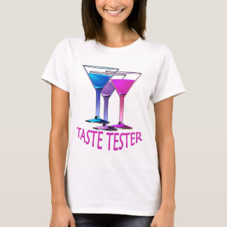 Martini Cocktail Taste Tester Ladies Party T-shirt