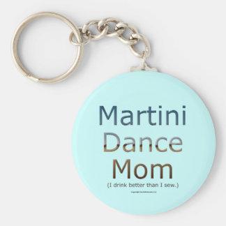 Martini Dance Mom Key Chain