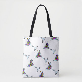 MARTINI GLASS TOTE BAG