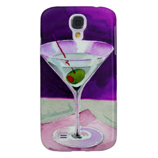Martini Glass with Olive Galaxy S4 Covers