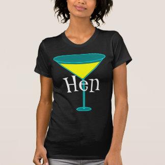 Martini Glasses Hen T-Shirt