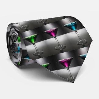 Martini Glasses Tie