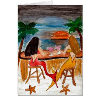 Martini Mermaids Card