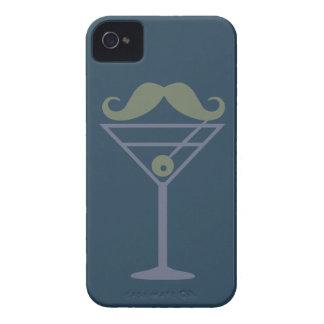 Martini Moustache custom Blackberry case