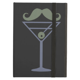 Martini Moustache custom iPad case