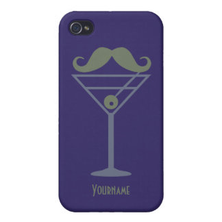 Martini Moustache iPhone cases iPhone 4 Covers