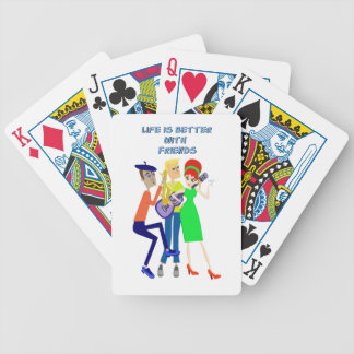 Martini Party Bicycle Playing Cards