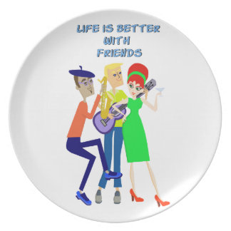 Martini Party Plate