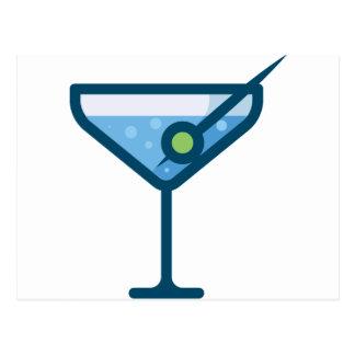 Martini Postcard