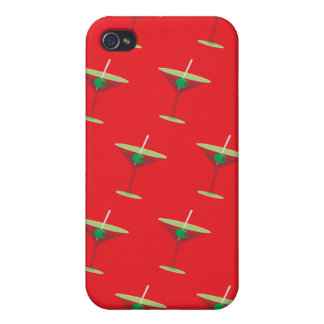 Martini red cases for iPhone 4