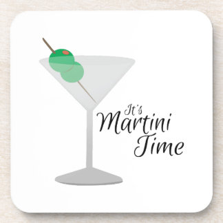 Martini Time Drink Coasters