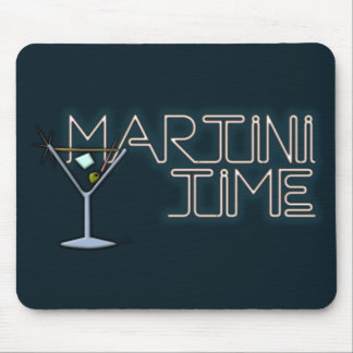 Martini Time Mouse Pad
