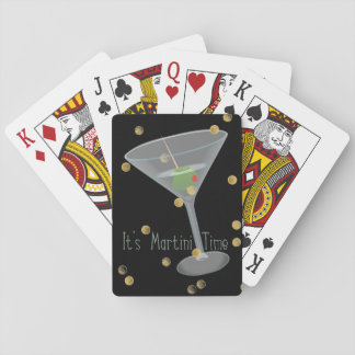 Martini Time Playing Cards