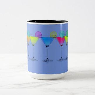 Martini-Travel-Mug_Pool-Side-Grape_Fun-Mugs& More Two-Tone Coffee Mug
