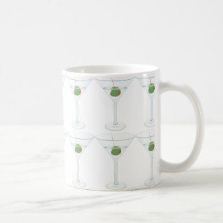 martini with olives coffee mug