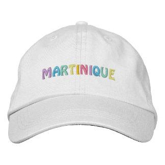 MARTINIQUE cap Embroidered Baseball Caps