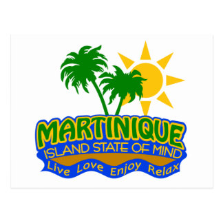 Martinique State of Mind postcard
