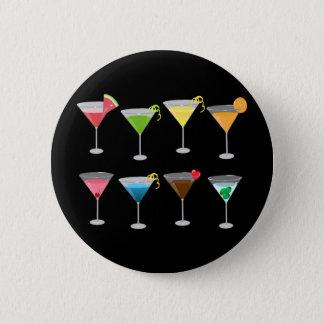 Martinis 6 Cm Round Badge