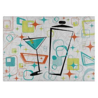 Martinis A Go-Go Glass Cutting Board