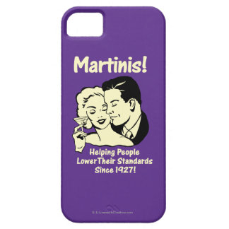 Martinis: Helping Lower Standards iPhone 5 Covers