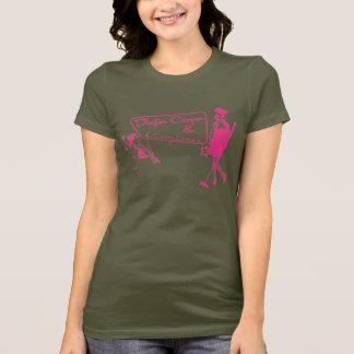 Martini's & Music - Pink T-Shirt