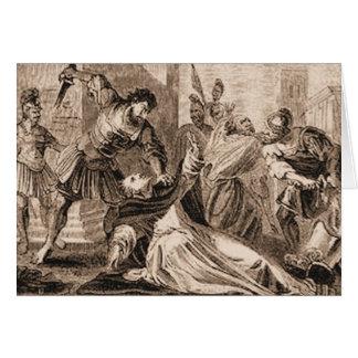 Martrdom of Saint James Card