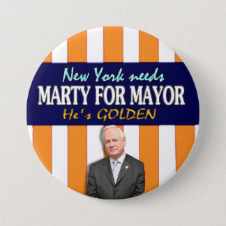 Marty Golden for NYC Mayor 2013 7.5 Cm Round Badge