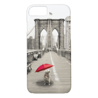 Marty Mouse on the Brooklyn Bridge iPhone 7 Case