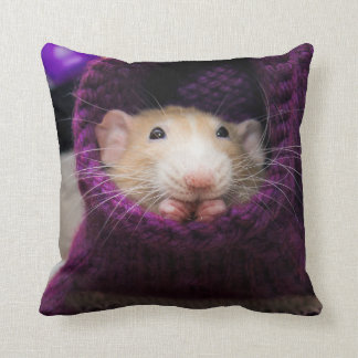 Marty Mouse Purple Sock Pillow