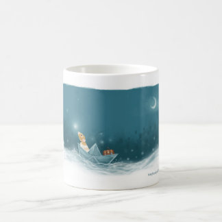 Marty Sails onto Adventure in his Imagination Coffee Mug
