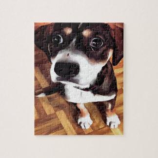 Marty The Soulful Eyed Dog Jigsaw Puzzle