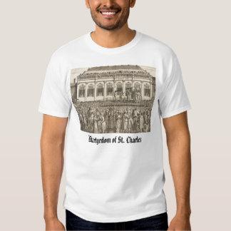 Martyrdom of Charles I, Martyrdom of St. Charles T-shirts