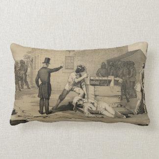 Martyrdom of Joseph & Hiram Smith in Carthage Jail Cushions