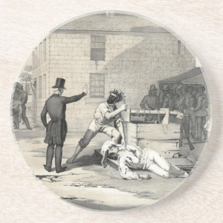 Martyrdom of Joseph & Hiram Smith in Carthage Jail Drink Coasters