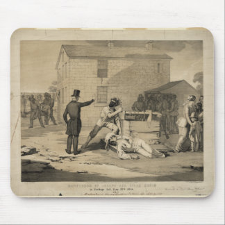 Martyrdom of Joseph & Hiram Smith in Carthage Jail Mouse Pads