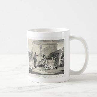 Martyrdom of Joseph & Hiram Smith in Carthage Jail Basic White Mug